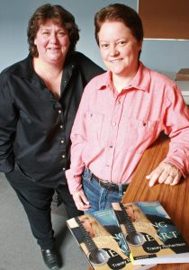 Musician Elaine Dark & author Tracey Richardson